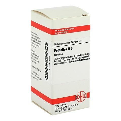 PETASITES D 6 Tabletten 80 St�ck N1