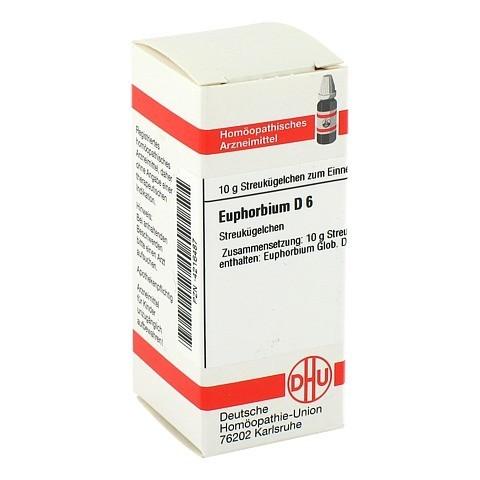EUPHORBIUM D 6 Globuli 10 Gramm N1