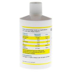 GRAPEFRUIT KERN Extrakt 250 Milliliter - Rückseite