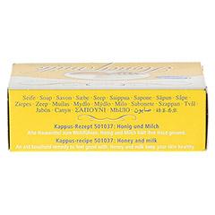 KAPPUS Honigmilch Seife 50 Gramm - Oberseite