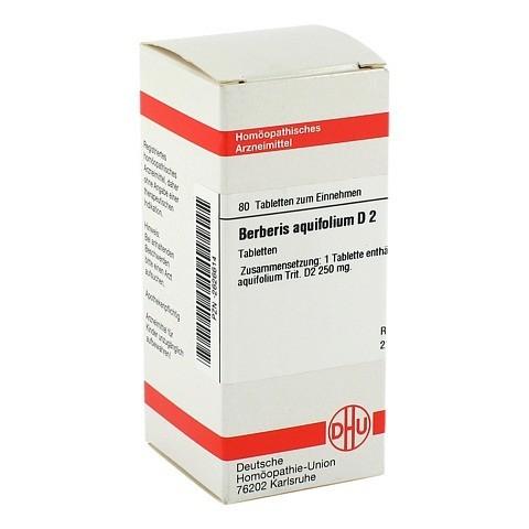 BERBERIS AQUIFOLIUM D 2 Tabletten 80 St�ck N1