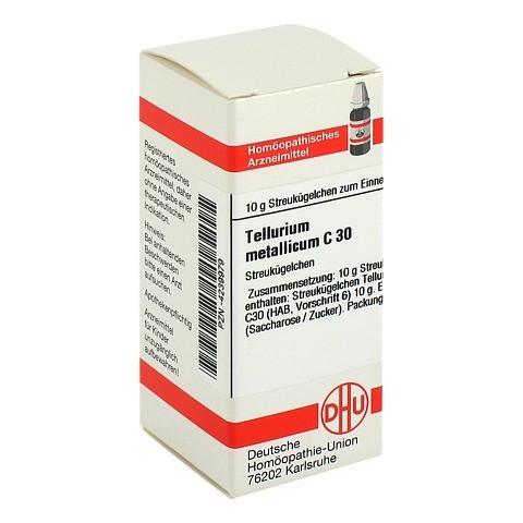 TELLURIUM Metallicum C 30 Globuli 10 Gramm N1