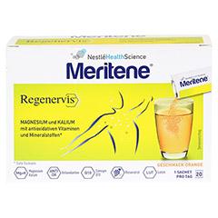 MERITENE Regenervis Orange Pulver 20x4.2 Gramm - Vorderseite
