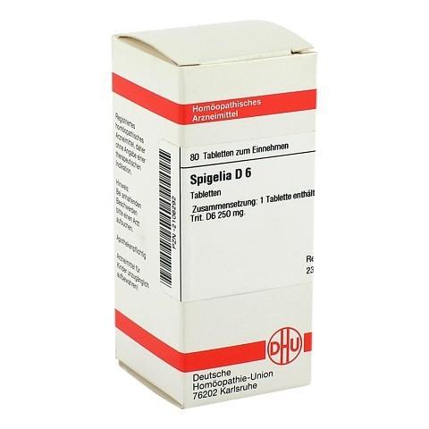 SPIGELIA D 6 Tabletten 80 Stück N1