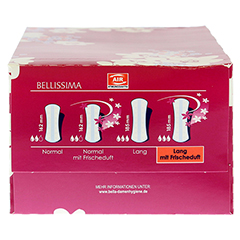 BELLA Slipeinlagen lang mit Duft 40 Stück - Rechte Seite