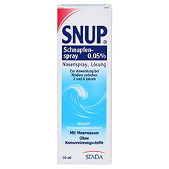 Snup Schnupfenspray 0,05% 10 Milliliter N1 - Vorderseite