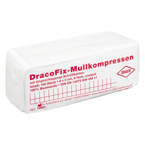 DRACOFIX OP-Kompressen 5x5 cm unsteril 8fach 100 Stück