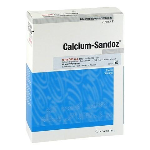 Calcium-Sandoz forte 500mg 60 Stück