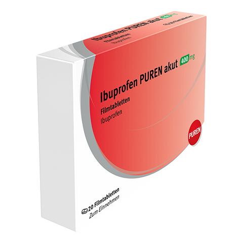 Ibuprofen-Actavis 400mg 20 St�ck