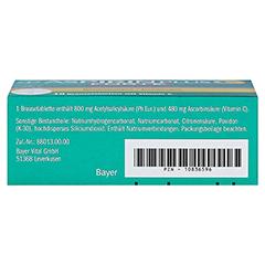Aspirin plus C Forte 800mg/480mg 10 Stück - Unterseite