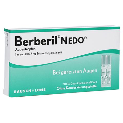 Berberil N EDO Augentropfen 10x0.5 Milliliter