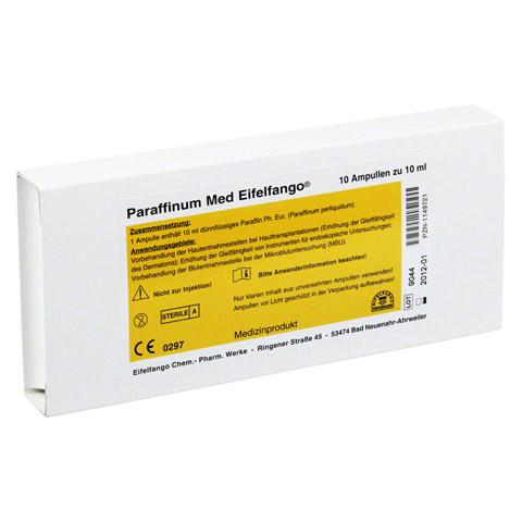 PARAFFINUM Med Eifelfango Ampullen 10x10 Milliliter