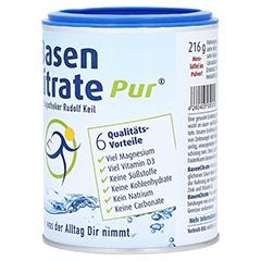 Basen Citrate Pur 216 Gramm - Linke Seite