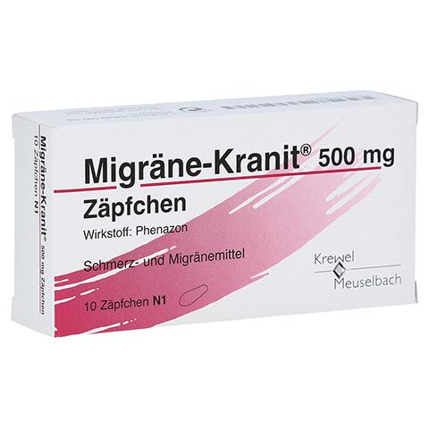 Migräne-Kranit 500mg 10 Stück N1