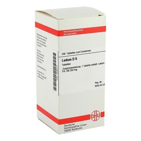 LEDUM D 6 Tabletten 200 St�ck N2