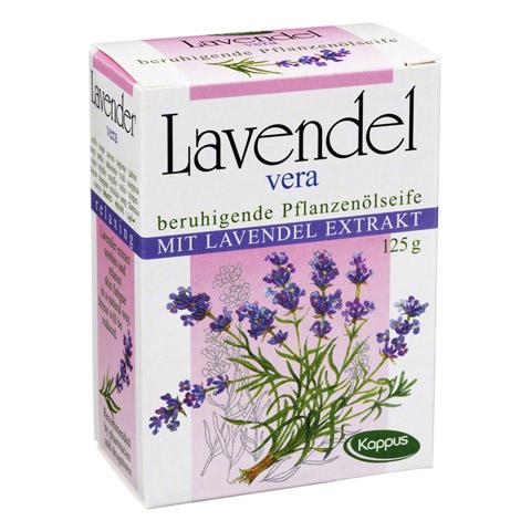 KAPPUS Lavendel Vera Pflanzenölseife 125 Gramm