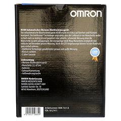 OMRON M500IT Oberarm Blutdruckmessgerät 1 Stück - Rückseite