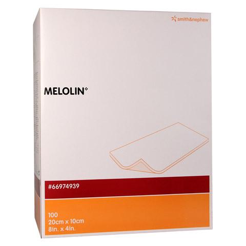 MELOLIN 20x10 cm Wundauflagen steril 100 Stück