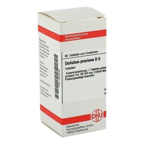 DOLICHOS PRURIENS D 6 Tabletten 80 Stück N1