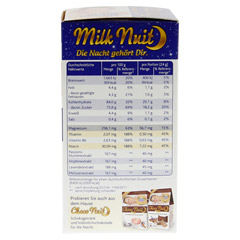MILK Nuit gute Nacht Drink Typ Milch+Honig Pulver 8 St�ck - Linke Seite