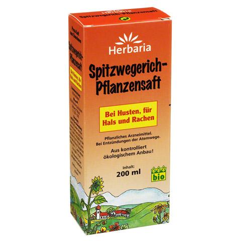 Spitzwegerich-Pflanzensaft 200 Milliliter