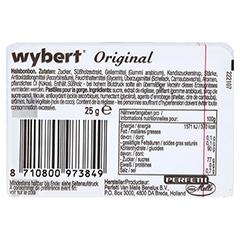 WYBERT Pastillen 25 Gramm - Rückseite