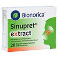 SINUPRET extract überzogene Tabletten 20 Stück N1