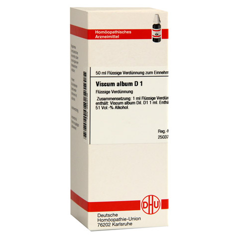 VISCUM ALBUM D 1 Dilution 50 Milliliter N1