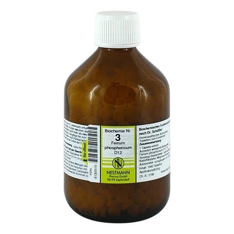 BIOCHEMIE 3 Ferrum phosphoricum D 12 Tabletten 1000 Stück