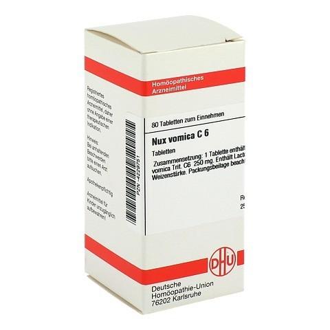NUX VOMICA C 6 Tabletten 80 St�ck N1