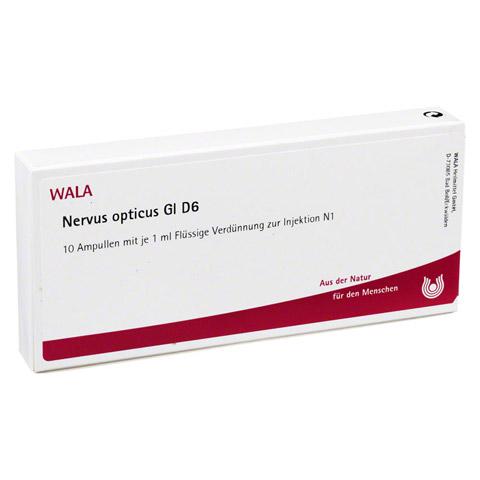 NERVUS OPTICUS GL D 6 Ampullen 10x1 Milliliter N1