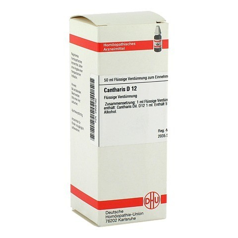 CANTHARIS D 12 Dilution 50 Milliliter N1