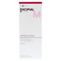 EXCIPIAL Mandelöl-Bad 500 Milliliter - Vorderseite