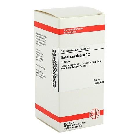 SABAL SERRULATUM D 2 Tabletten 200 Stück N2