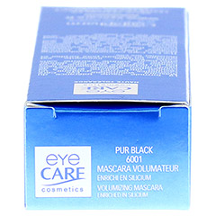 EYE CARE Mascara Volumen pure black 9 Gramm - Oberseite