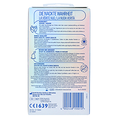 DUREX Invisible Kondome 12 Stück - Rückseite