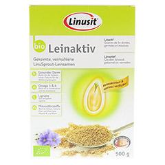 LINUSIT Leinaktiv Bio 500 Gramm - Vorderseite