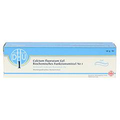 BIOCHEMIE DHU 1 Calcium fluoratum D 4 Gel 50 Gramm N1 - Vorderseite