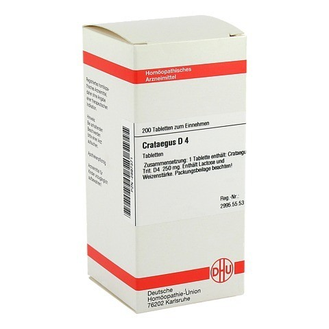 CRATAEGUS D 4 Tabletten 200 Stück N2
