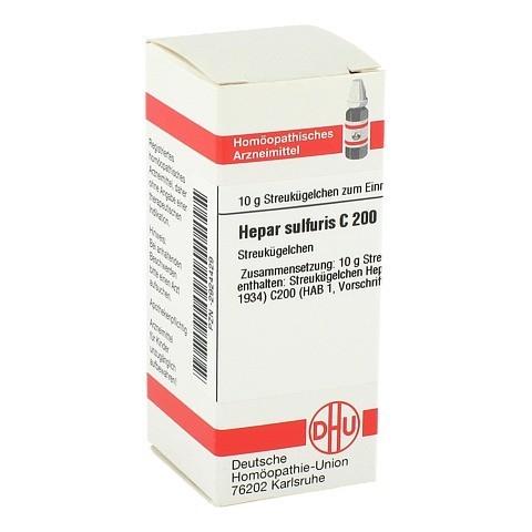 HEPAR SULFURIS C 200 Globuli 10 Gramm N1