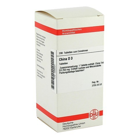 CHINA D 3 Tabletten 200 St�ck N2