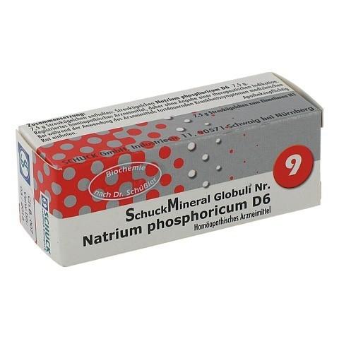 SCHUCKMINERAL Globuli 9 Natrium phosphoricum D6 7.5 Gramm