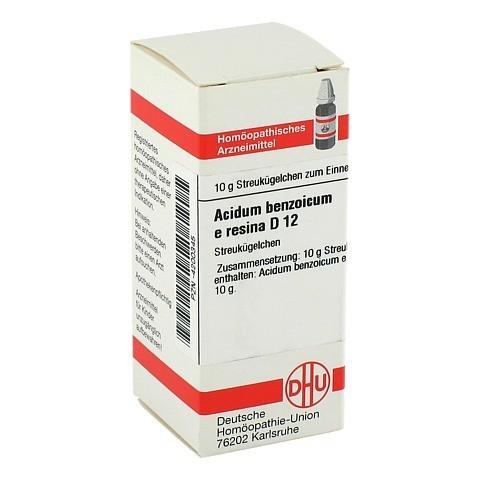 ACIDUM BENZOICUM e Resina D 12 Globuli 10 Gramm N1