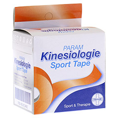 KINESIOLOGIE Sport Tape 5 cmx5 m orange 1 St�ck