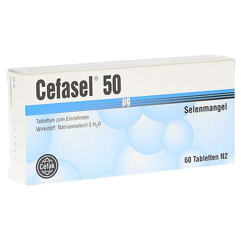 CEFASEL 50 �g Tabletten 60 St�ck N2