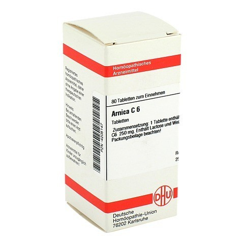 ARNICA C 6 Tabletten 80 Stück N1
