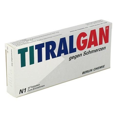 TITRALGAN gegen Schmerzen 10 St�ck N1