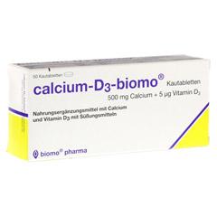 CALCIUM D3 biomo Kautabletten 500+D 50 St�ck