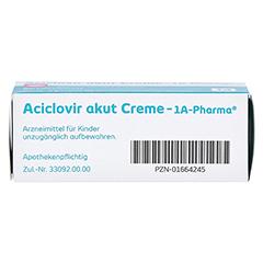 Aciclovir akut Creme-1A Pharma 2 Gramm N1 - Unterseite
