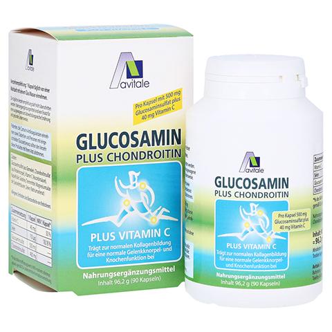 GLUCOSAMIN 500 mg+Chondroitin 400 mg Kapseln 90 St�ck